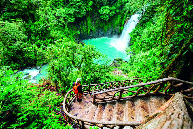 Καταρράκτης, Κόστα Ρίκα
