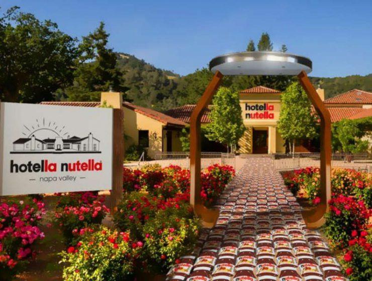 Nutella ξενοδοχείο