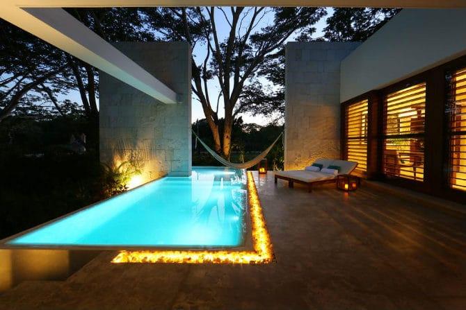 καλύτερα διακοσμημένο ξενοδοχείο Μεξικό