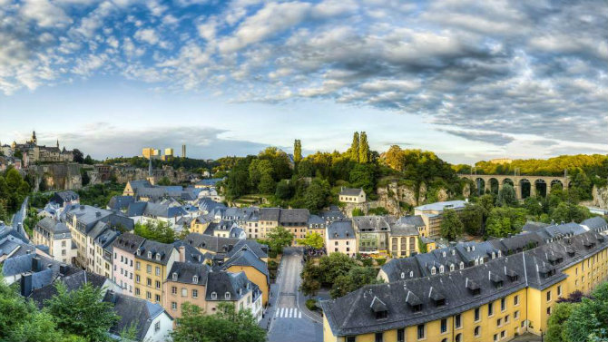 Λουξεμβούργο ασφαλείς πόλεις 2020