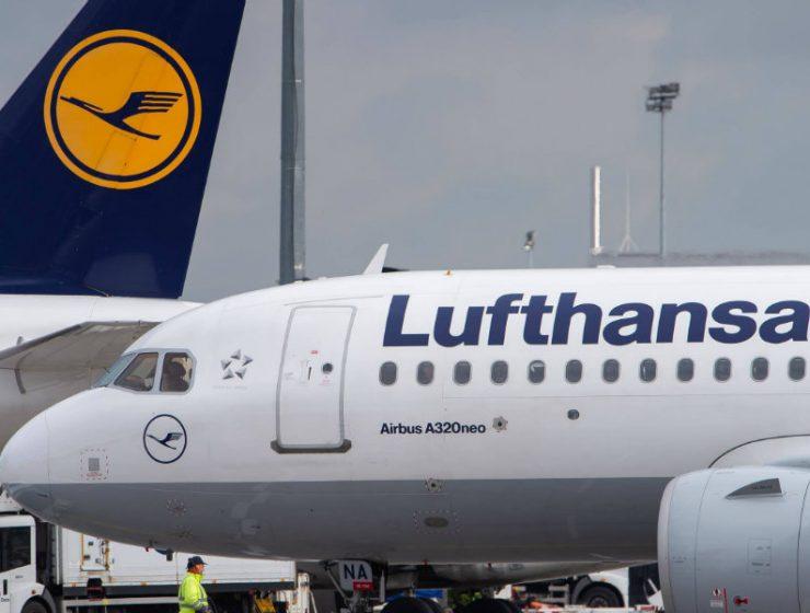 Lufthansa απεργία