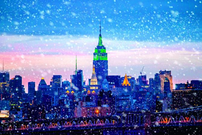 Γενική άποψη της Νέας Υόρκης