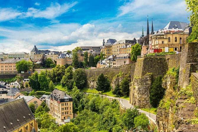 Παλιά Πόλη του Λουξεμβούργου