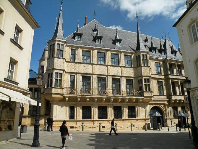 Παλάτι του Μεγάλου Δούκα, Λουξεμβούργο