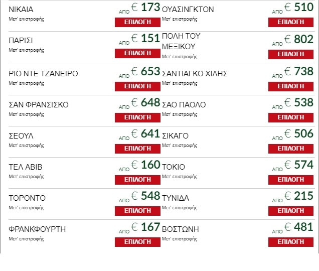 Alitalia: Μεγάλη προσφορά, ταξιδέψτε σε όλον τον κόσμο με εισιτήρια από...54€!