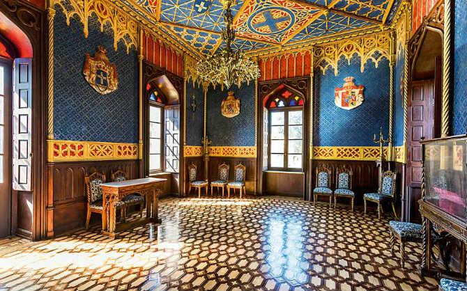 Εσωτερικός χώρος, Πύργος Βασιλίσσης