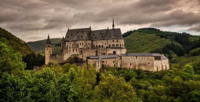 Κάστρο Vianden, Λουξεμβούργο