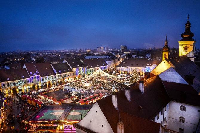 Χριστουγεννιάτικη αγορά Βουκουρέστι