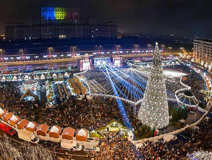 Βουκουρέστι Χριστουγεννιάτικη αγορά