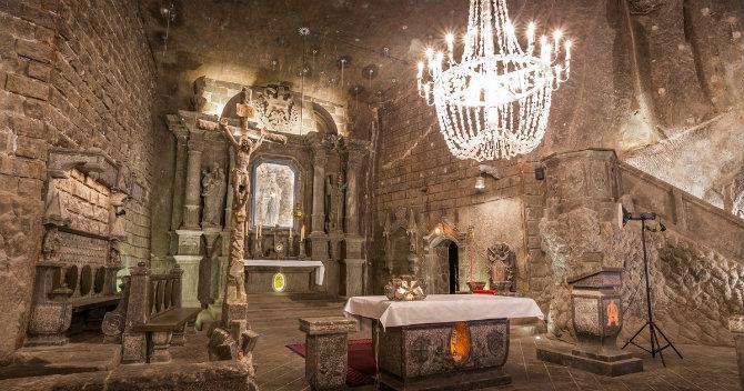 Αλατωρυχείο Wieliczka, Wieliczka, Πολωνία