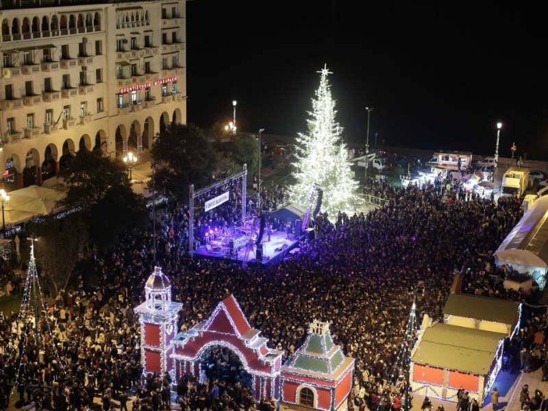 Το Χριστουγεννιάτικο χωριό «έρχεται» στη Θεσσαλονίκη που βάζει τα γιορτινά της!