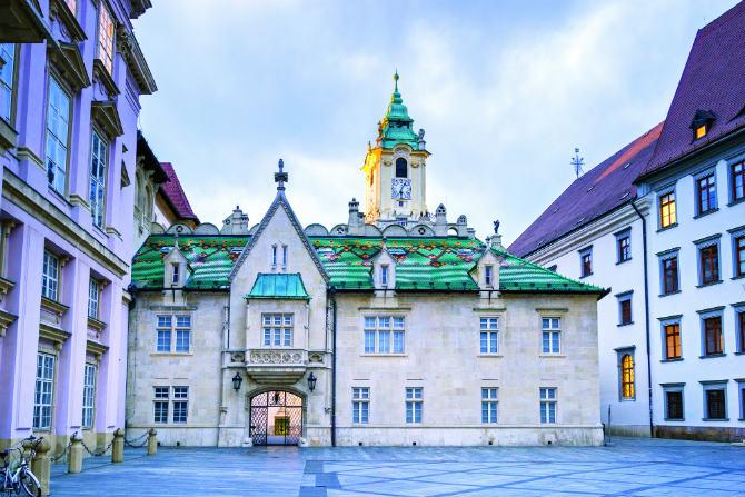 Το Δημαρχείο της Μπρατισλάβα