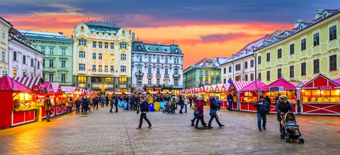 Μπρατισλάβα υπαίθριες αγορές