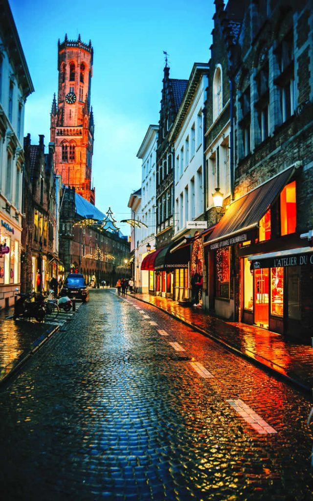 Μπριζ, Βέλγιο, Ευρώπη Χριστούγεννα