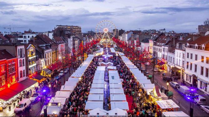 Βρυξελλών, Βέλγιο Χριστουγεννιάτικη αγορά