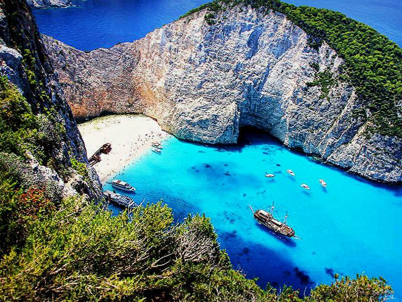 Στις πιο πολύχρωμες χώρες της Ευρώπης η Ελλάδα!