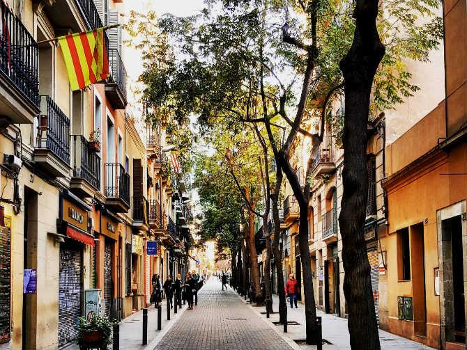Gracia, Βαρκελώνη ψαγμένες γειτονιές Ευρώπη