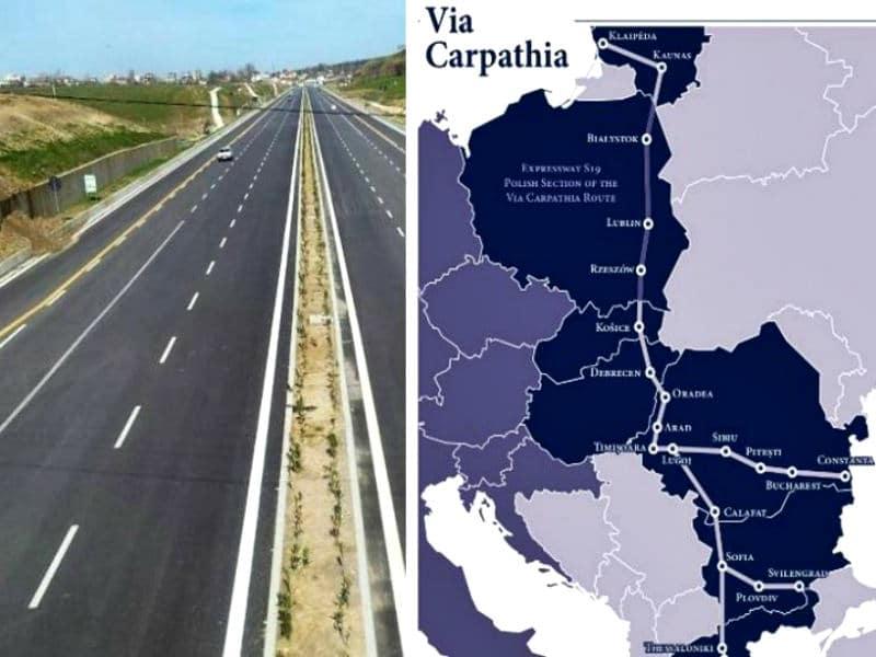 Καρπάθια οδός: Ο αυτοκινητόδρομος που θα συνδέσει τη Θεσσαλονίκη με άλλες 6 χώρες! (video)