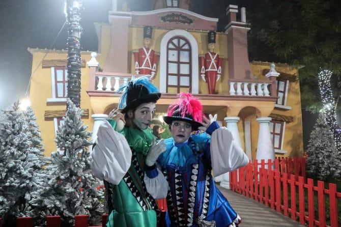 Η Λάρισα και το Πάρκο των Ευχών υποδέχονται εντυπωσιακά τα Χριστούγεννα!
