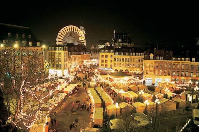 Lille, Γαλλία Χριστουγεννιάτικη αγορά
