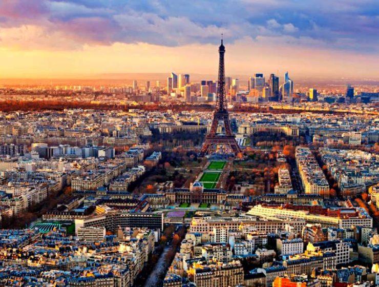 Παρίσι ταξίδι από ψηλά