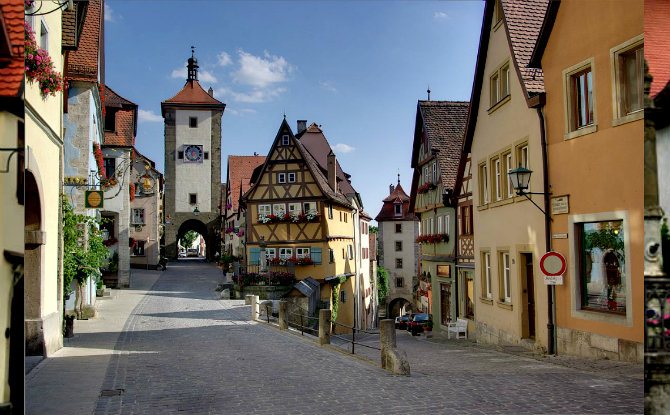 Rothenburg ob der Tauber, Γερμανία