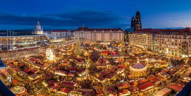 Δρέσδη, Γερμανία Χριστουγεννιάτικη αγορά