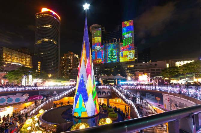 Ταϊβάν, Χριστουγεννιάτικο δέντρο