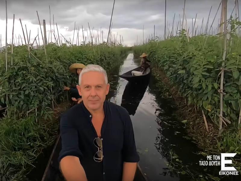 Ο Τάσος Δούσης και οι  «Εικόνες» στην «ονειρική» Βιρμανία! Μην χάσετε το δεύτερο μέρος του ταξιδιού! (video)