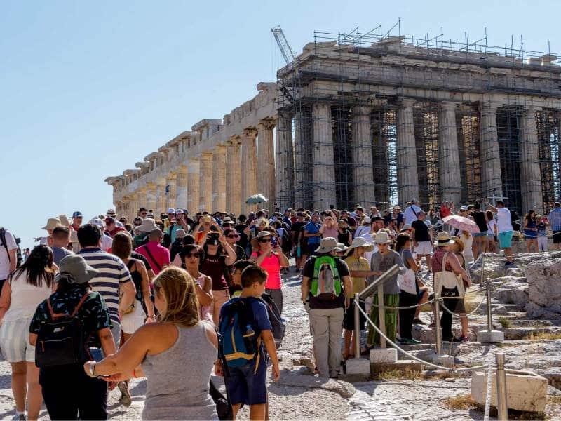 Ελλάδα τουρίστες