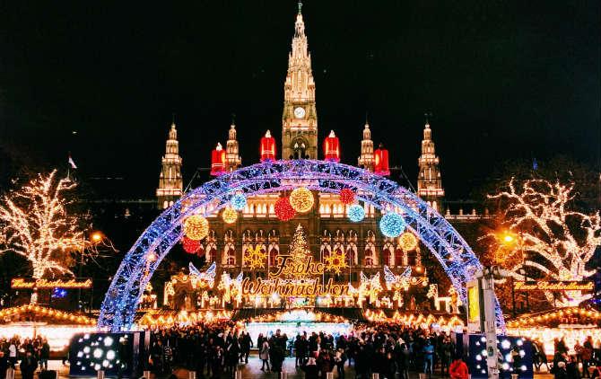 Βιέννη, Χριστουγεννιάτικες αγορές