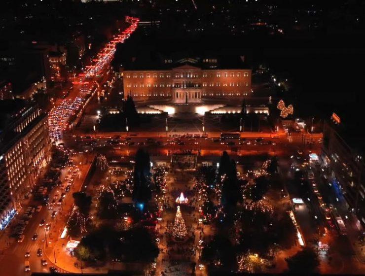 Χριστουγεννιάτικη Αθήνα