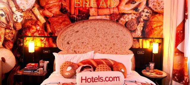 Bread & Breakfast δωμάτιο - κρεβάτι