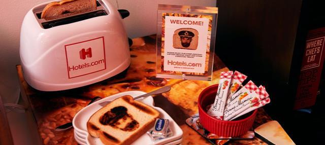 Bread & Breakfast δωμάτιο - φαγητά