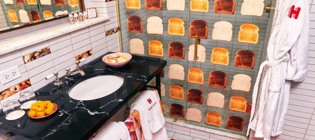 Bread & Breakfast δωμάτιο - μπάνιο