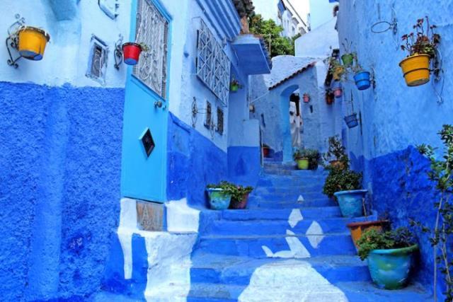 Μπλε Πόλη του Μαρόκου