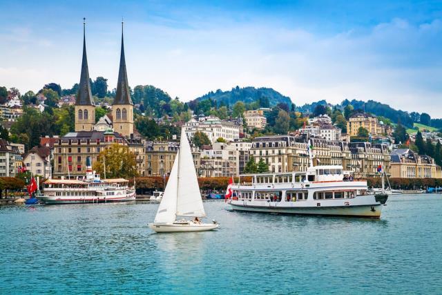 Λουκέρνη, πόλη στην Ελβετία