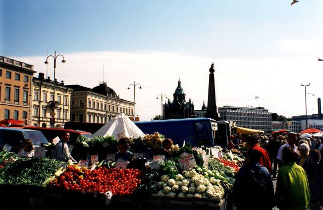 Market Square, αγορά στο Ελσίνκι