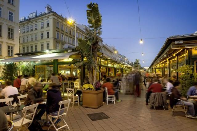 Naschmarkt, Αγορά στη Βιέννη