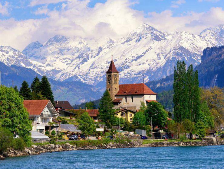 Ελβετία πόλεις και χωριά