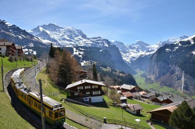 Wengen, χωριό στην Ελβετία