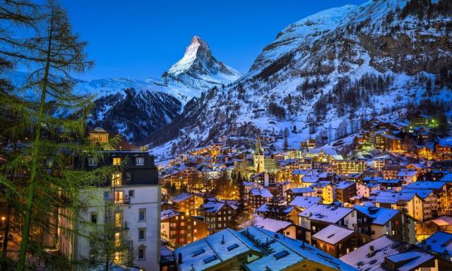Τσερμάτ, πόλη στην Ελβετία
