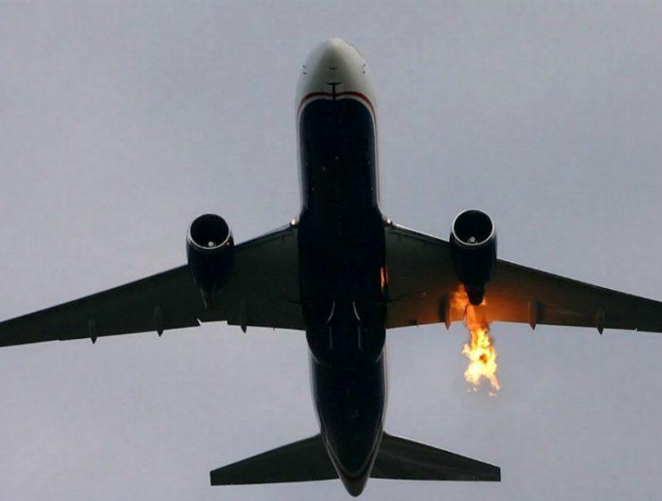 αεροπλάνο φωτιά