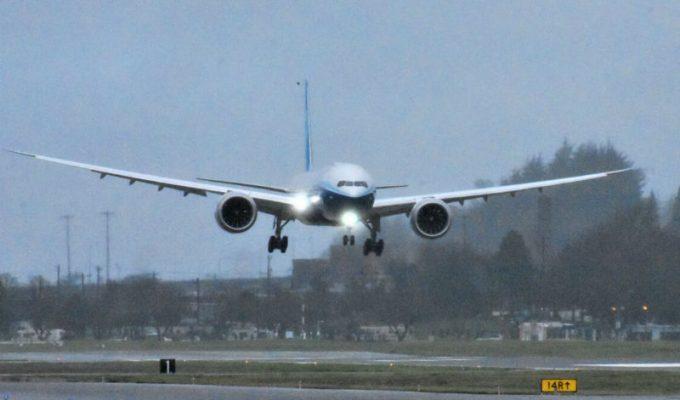 Boeing 777X παρθενικό ταξίδι