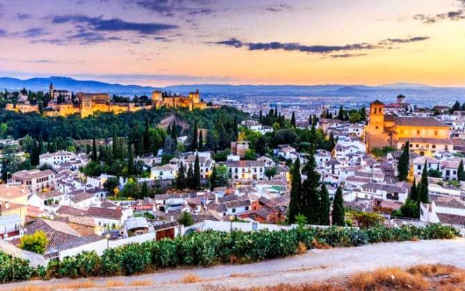 Γρανάδα ,ισπανικές πόλεις