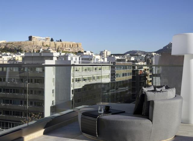 Heritage Hill Hotel - θέα στην Ακρόπολη
