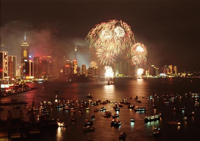 Κινέζικη Πρωτοχρονιά στο Χονγκ Κονγκ