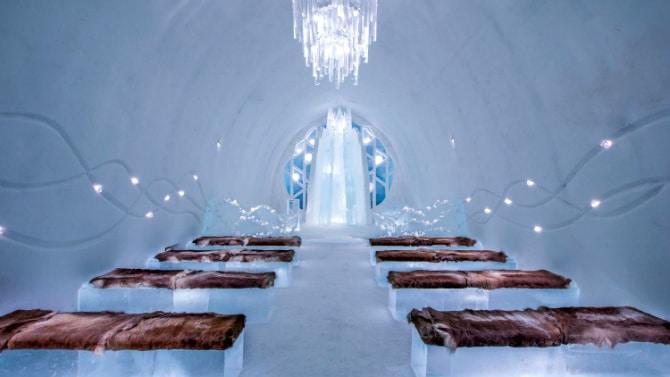 Το εντυπωσιακό ξενοδοχείο από πάγο στη Σουηδία διαθέτει σουίτα με όνομα από ελληνικό νησί!