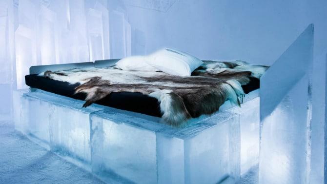 ξενοδοχείο από πάγο