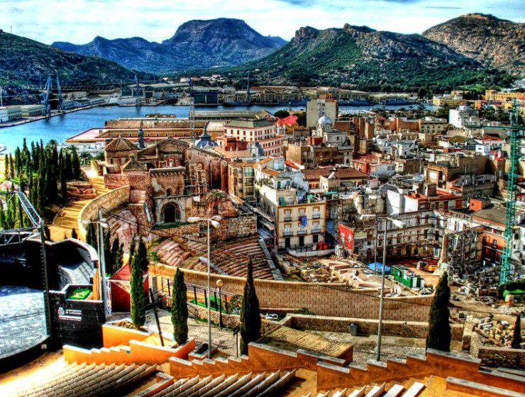 ισπανικές πόλεις